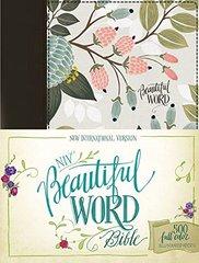 NIV Beautiful Word Bible: New International Version, Multi-Color Floral Cloth