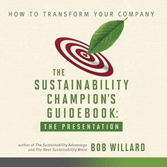 Sustainability Champion's Guidebook: The Presentation