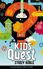 Kids' Quest Study Bible: New International Reader's Version: Answers to over 500 Questions About the Bible