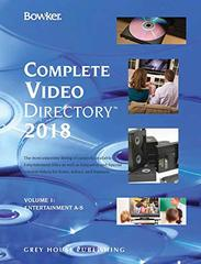Bowker's Complete Video Directory 2018