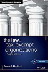 The Law of Tax-Exempt Organizations