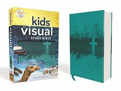 NIV Kids' Visual Study Bible: New International Version, Teal, Leathersoft: Explore the Story of the Bible: People, Places, and History