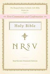 "NRSV, The HarperCollins Catholic Gift Bible, Imitation Leather, White: """""