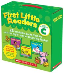 First Little Readers Guided Reading Level C: 25 Irresistible Books That Are Just the Right Level for Beginning Readers by Charlesworth, Liza