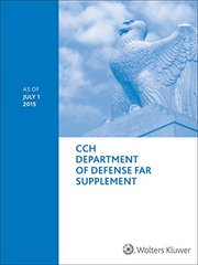 Department of Defense FAR: As of July 1, 2015
