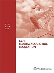 Federal Acquisition Regulation - Far: As of 07/2015