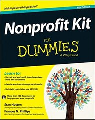 Nonprofit Kit for Dummies by Hutton, Stan/ Phillips, Frances N.