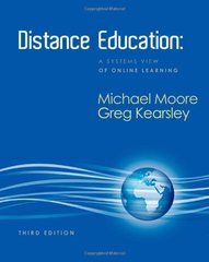 Distance Education: A Systems View of Online Learning by Moore, Michael G./ Kearsley, Greg