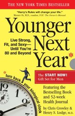 Younger Next Year: The Book & Journal Gift Set for Men by Crowley, Chris/ Lodge, Henry S., M.d.