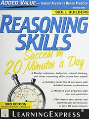Reasoning Skills Success in 20 Minutes a Day by Learningexpress