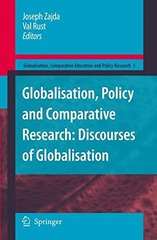 Globalisation, Policy and Comparative Research: Discourses of Globalisation by Zajda, Joseph (EDT)/ Rust, Val (EDT)
