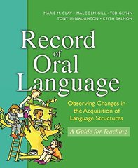 Record of Oral Language by Clay, Marie