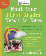 What Your First Grader Needs to Know: Fundamentals of a Good First-Grade Education by Hirsch, E. D. (EDT)
