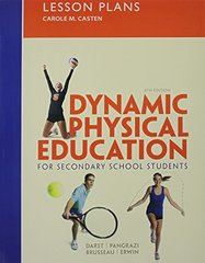 Lesson Plans: Dynamic Physical Education for Secondary School Students