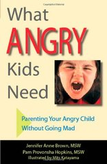 What Angry Kids Need: Parenting Your Angry Child Without Going Mad by Brown, Jennifer Anne/ Hopkins, Pam Provonsha/ Katayama, Mits (ILT)