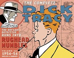 The Complete Dick Tracy: 1954-1956 by Gould, Chester