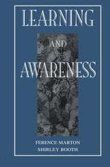 Learning and Awareness by Marton, Ference/ Booth, Shirley