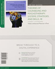 Theories of Counseling and Psychotherapy Video-enhanced Pearson Etext Access Card: Systems, Strategies, and Skills by Seligman, Linda W./ Reichenberg, Lourie W.
