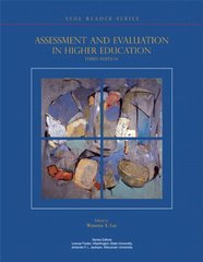 Assessment and Evaluation in Higher Education by Lee, Wynetta Y. (EDT)