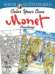 Color Your Own Monet Paintings by Noble, Marty