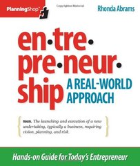 Entrepreneurship: A Real-World Approach by Abrams, Rhonda