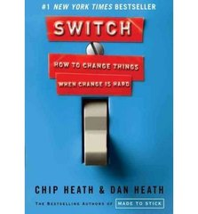 Switch: How to Change Things When Change Is Hard by Heath, Chip/ Heath, Dan