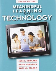 Meaningful Learning With Technology by Howland, Jane L./ Jonassen, David/ Marra, Rose M.