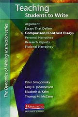 Teaching Students to Write: Comparison/Contrast Essays