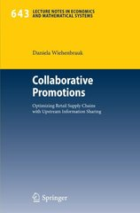 Collaborative Promotions by Wiehenbrauk, Daniela