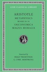 Aristotle: Metaphysics, X-XIV by Aristotle/ Tredennick, Hugh (TRN)