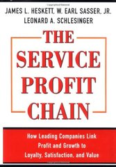 The Service Profit Chain: How Leading Companies Link Profit and Growth to Loyalty, Satisfaction, and Value by Heskett, James L./ Sasser, W. Earl/ Schlesinger, Leonard A.