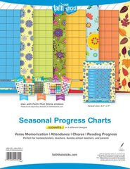 Faith That Sticks Seasonal Progress Charts: Verse Memorization / Attendance / Chores / Reading Progress