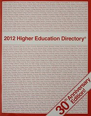 2012 Higher Education Directory by Rodenhouse, Mary Pat (EDT)/ Burke, Jeanne M. (EDT)
