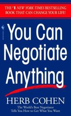 You Can Negotiate Anything by Cohen, Herb