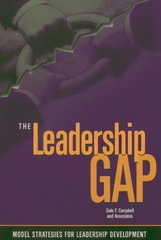 Leadership Gap: Model Strategies for Leadership Developing