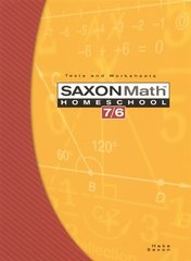 Saxon Math 7/6: Homeschool Tests and worksheets