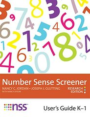 Number Sense Screener (NSS) User's Guide, K-1: Research Edition