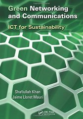 Green Networking and Communications: ICT for Sustainability