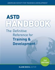 ASTD Handbook: The Definitive Reference for Training & Development