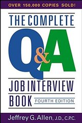 The Complete Q&a Job Interview Book by Allen, Jeffrey G.