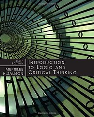 Introduction to Logic and Critical Thinking by Salmon, Merrilee H.