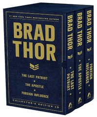 Brad Thor Collector's Edition 3: The Last Patriot / The Apostle / Foreign Influence by Thor, Brad