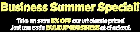 Business banner text